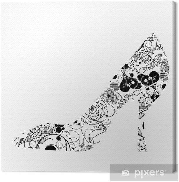 Obraz na płótnie Shoea - Sztuka i twórczość