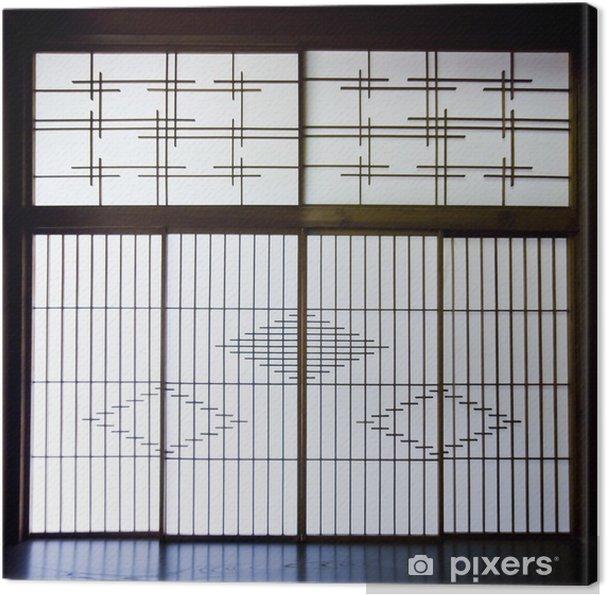 Obraz na płótnie Shoji screen papier, Japonia. - Azja