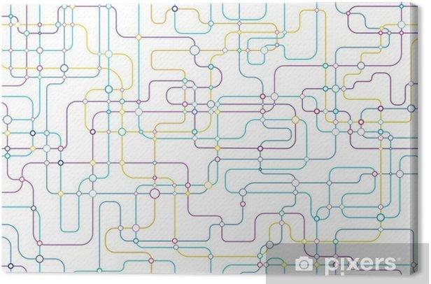 Obraz na płótnie Sieć bezszwowe tło - Zasoby graficzne
