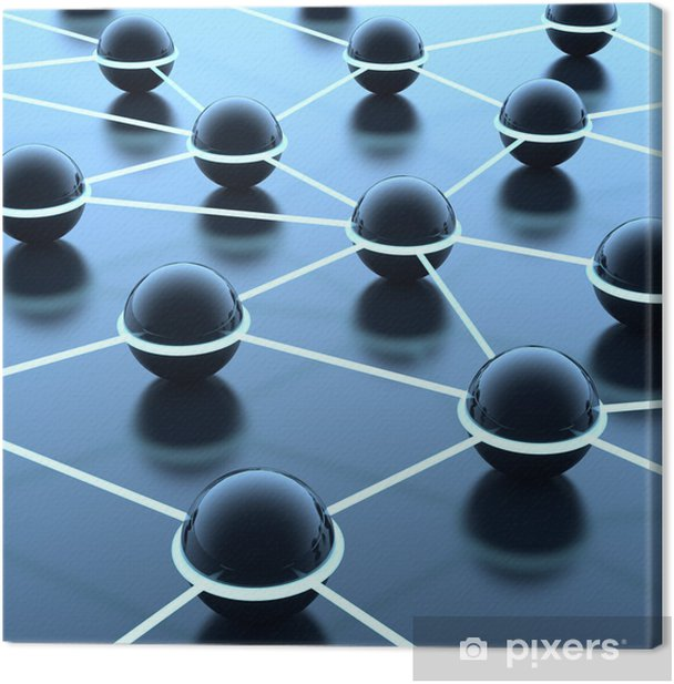 Obraz na płótnie Sieć i Internet - Internet i sieci
