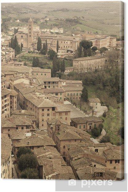 Obraz na płótnie Siena - Wakacje
