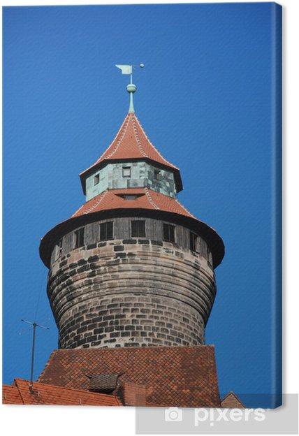 Obraz na płótnie Sinwellturm Norymberga - Zabytki