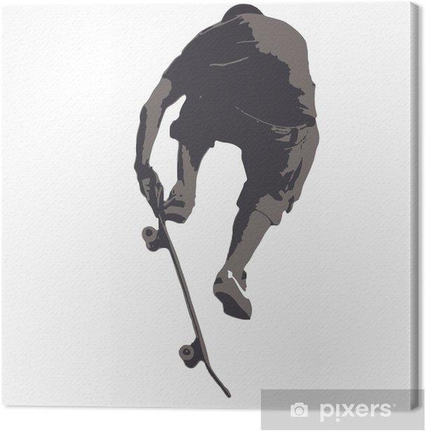 Obraz na płótnie Skaterboarder 08-1 - Sporty indywidualne