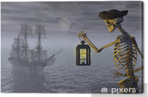 Obraz na płótnie Skeleton Pirat z Ghost Ship - Święta międzynarodowe
