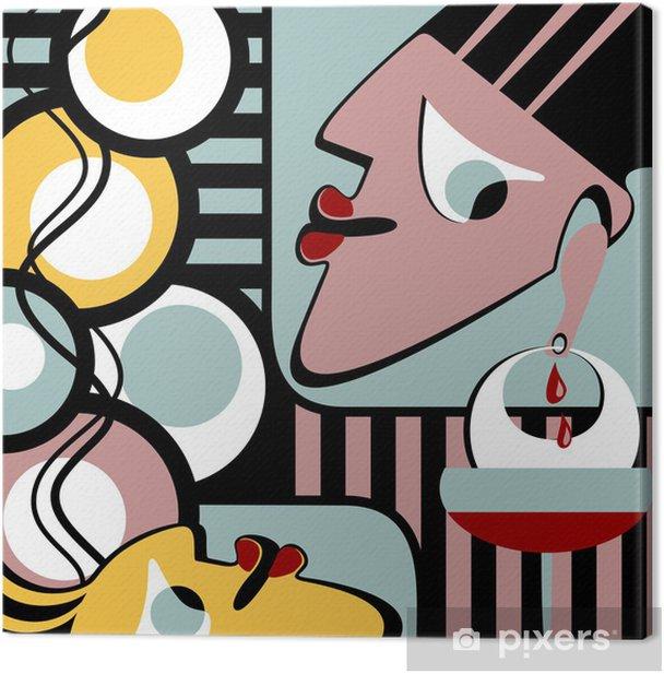 Obraz na płótnie Skład surrealistyczny - Sztuka i twórczość