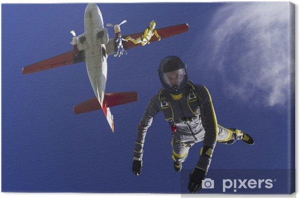 Obraz na płótnie Skoki spadochronowe zdjęcia - Zawody