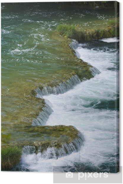 Obraz na płótnie Skradinski Buk - światowej sławy wodospad - Europa