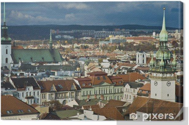 Obraz na płótnie Skyline widok Brno, Czech Republic - Europa