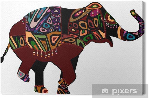 Obraz na płótnie Słoń cyrkowy - Święta Narodowe