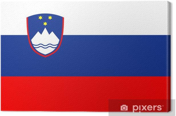 Obraz na płótnie Słowenia flag - Tematy