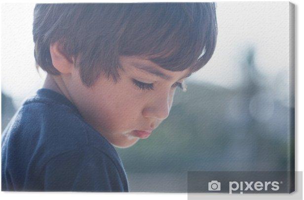 Obraz na płótnie Smutne dziecko - Tematy