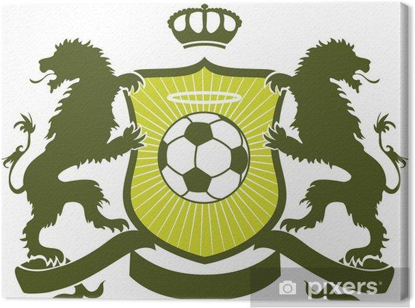Obraz na płótnie Soccer herbu - Sporty drużynowe