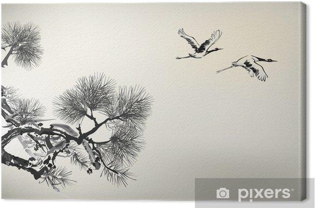 Obraz na płótnie Sosna - Drzewa