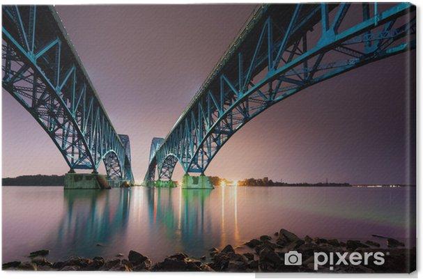 Obraz na płótnie South Grand Island napięcie Most Rzeka Niagara - Tematy