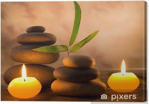 Obraz na płótnie Spa martwa natura z aromatycznych świec - Style