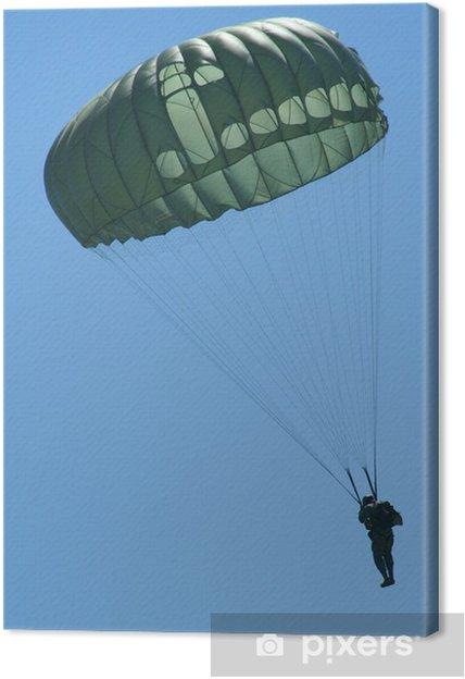 Obraz na płótnie Spadochroniarz w Descent - Sporty ekstremalne