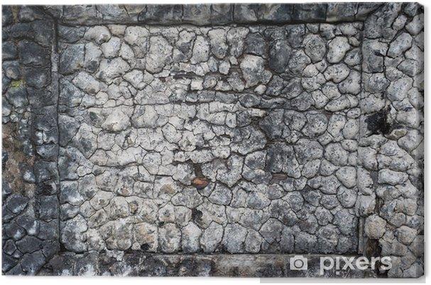 Obraz na płótnie Spalony drewniany tekstury - Tła