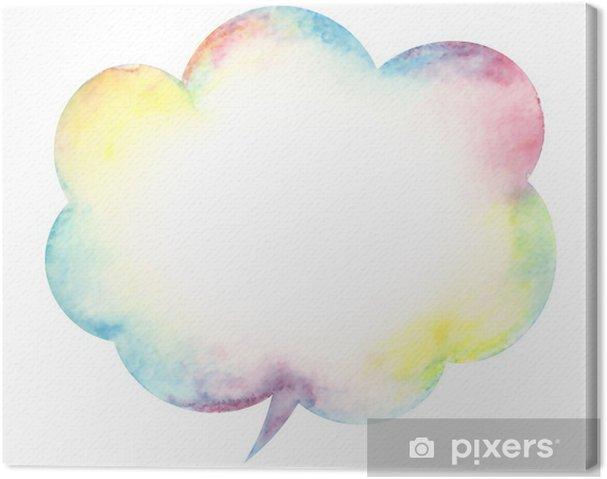 Obraz na płótnie Speech balloon - Sprzedaż
