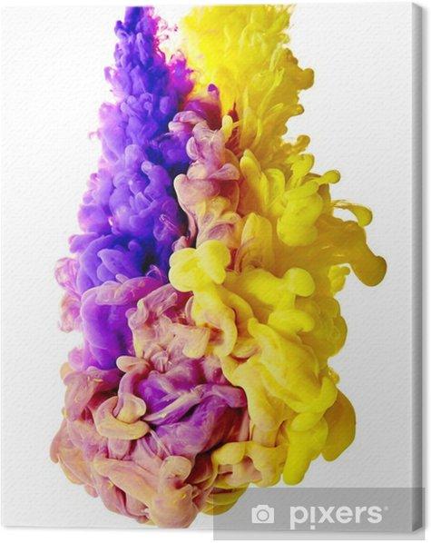 Obraz na płótnie Splash farby - Hobby i rozrywka