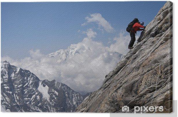 Obraz na płótnie Spodziewaliśmy śnieg ale spotkaliśmy tylko skały - Azja