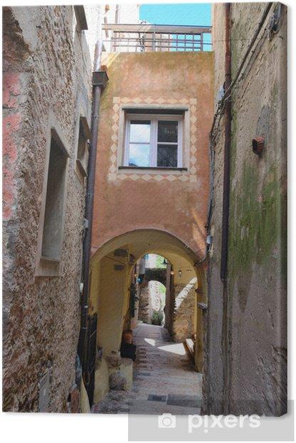 Obraz na płótnie Spojrzenie na Verezzi, Savona, Włochy - Europa