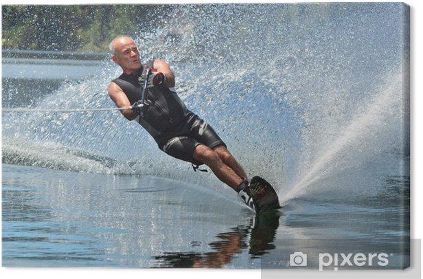 Obraz na płótnie Sporty wodne - narty wodne - Sporty indywidualne