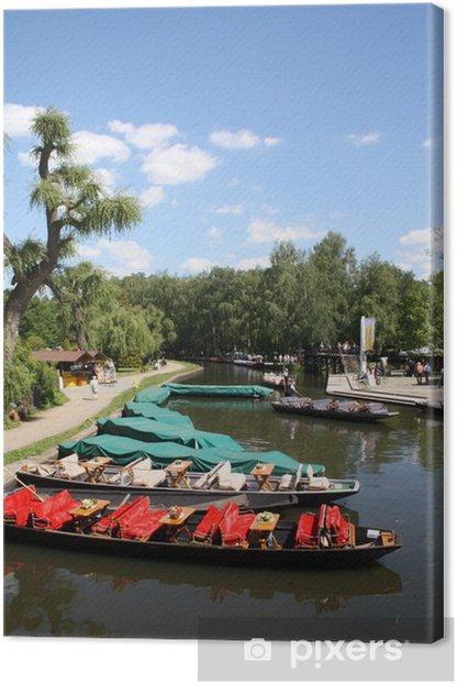 Obraz na płótnie Spreewald ogórki Lübbenau rzeka turystyka spree - Wakacje