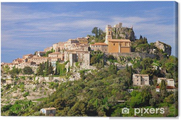 Obraz na płótnie Średniowieczna górska wioska Eze na Monako - Europa