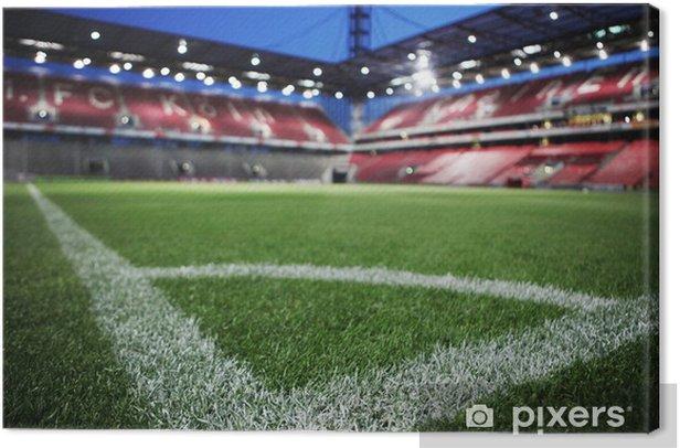 Obraz na płótnie Stadion Piłkarski - iStaging