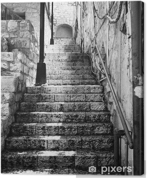 Obraz na płótnie Stairway w Zefat - Tematy