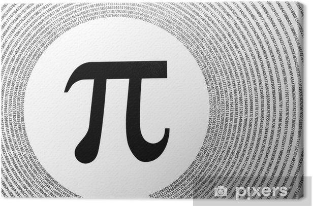 Obraz na płótnie Stała matematyczna Pi - Zdrowie i medycyna