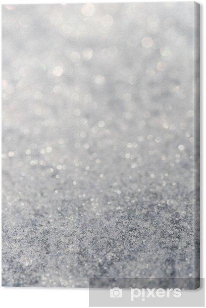 Obraz na płótnie Star tle brokat, super makro strzału, płytkich DOF - Wakacje