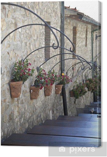 Obraz na płótnie Stara wieś w Toskanii - Europa