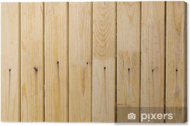 Obraz na płótnie Stare drewniane deski - Surowce