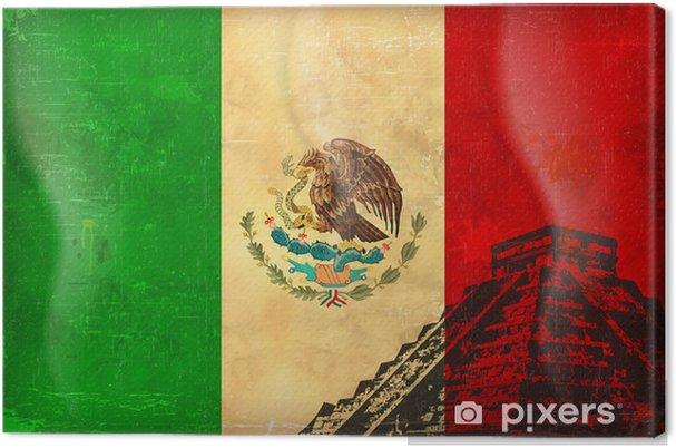 Obraz na płótnie Stare grunge z Meksyku - Ameryka
