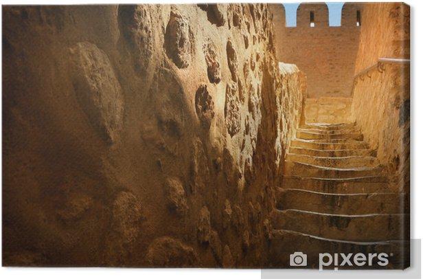 Obraz na płótnie Stare kamienne schody - Tematy
