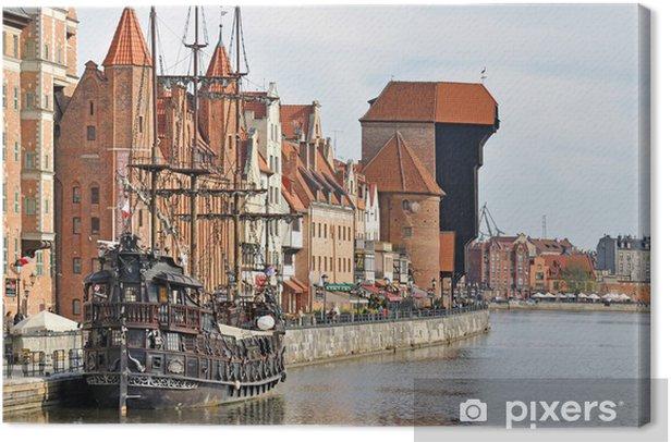 Obraz na płótnie Stare miasto w Gdańsku - Tematy