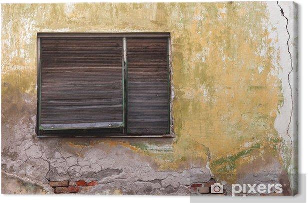 Obraz na płótnie Stare okno - Zabytki