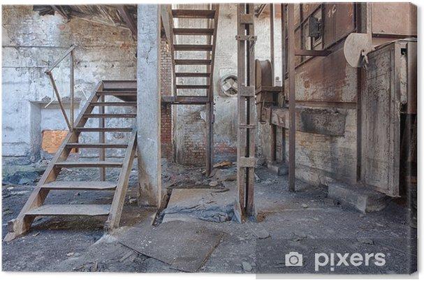 Obraz na płótnie Stare, opuszczone i zapomniane cegielni - Style