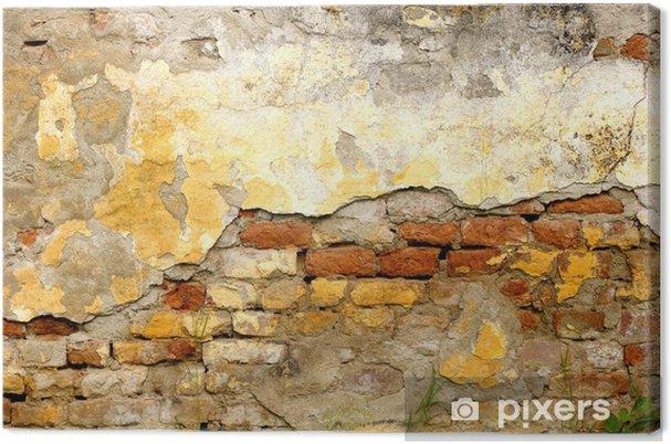 Obraz na płótnie Stare ściany tekstury - Tła