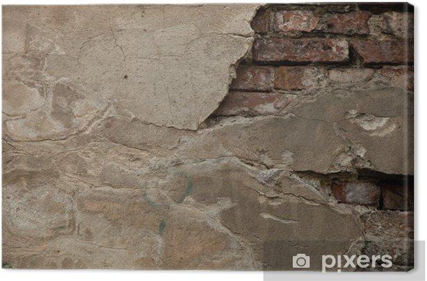Obraz na płótnie Stare ściany - tła - cegły - Przemysł ciężki
