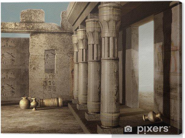 Obraz na płótnie Starożytne egipskie ruiny - Tematy