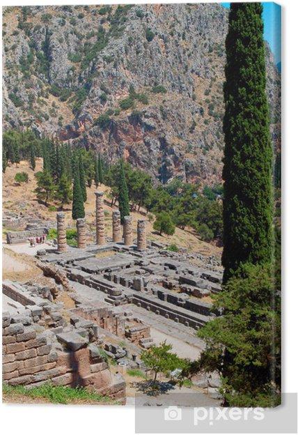 Obraz na płótnie Starożytnej Delphoi w Grecji - Europa