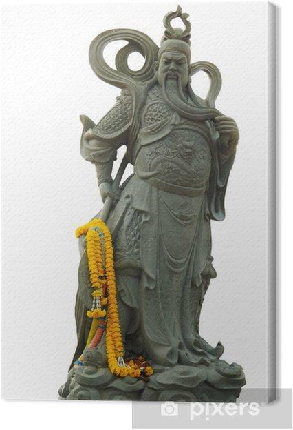 Obraz na płótnie Starożytni chińscy posągi wojowników. - Azja