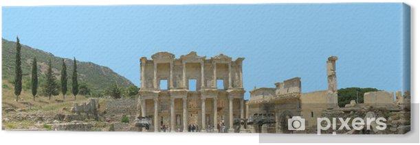 Obraz na płótnie Starożytności greckie miasta - Efez. Biblioteka. Panorama sześć zdjęcie - Europa