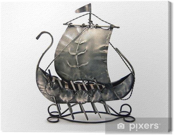 Obraz na płótnie Starożytny okręt wojenny - Transport wodny