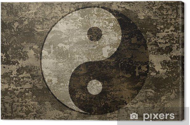 Obraz na płótnie Starożytny orientalny symbol yin-yang - Religie