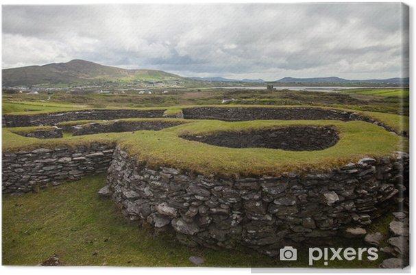 Obraz na płótnie Starożytny pierścień fort Leacanabuaile - Europa