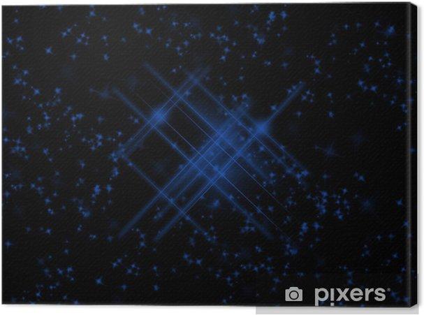 Obraz na płótnie Starry Sky - 4 - Przestrzeń kosmiczna