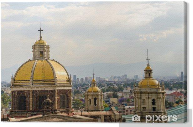 Obraz na płótnie Stary Bazylika Guadalupe - Ameryka